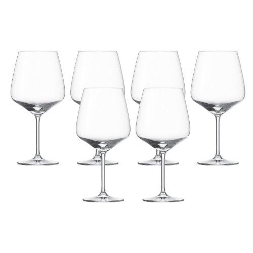 Schott Zwiesel 6er Set Taste Burgunderpokal Glas 8741/140