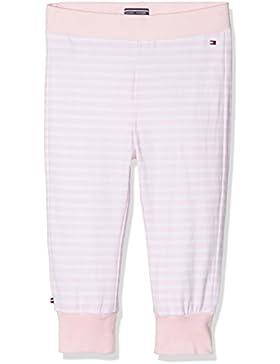 Tommy Hilfiger Baby-Mädchen Jogginghose Stripe Jersey Pant