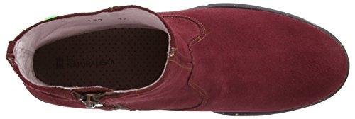 El NaturalistaNC50 QUERA - Stivali classici imbottiti a gamba corta Donna Rosso (Lux Suede Rioja)