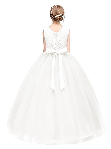 Babyonlinedress Mädchen Kleid Pinzessin Blumen-Mädchen Kinder Kleid Hochzeit Festkleid...