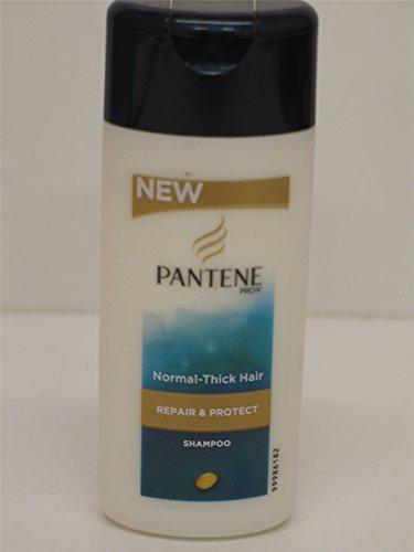6 X Pantene Repair & Protect Shampooing Cheveux Normaux à épais 6 x 75ml Format voyage