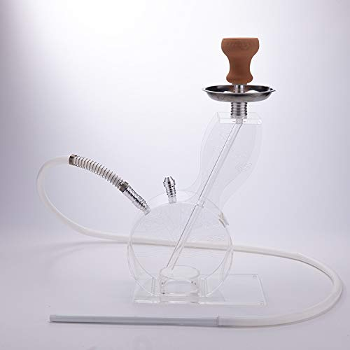 Set leichte Wasserpfeife mit Wärmemanagementsystem Shisha Shisha ()