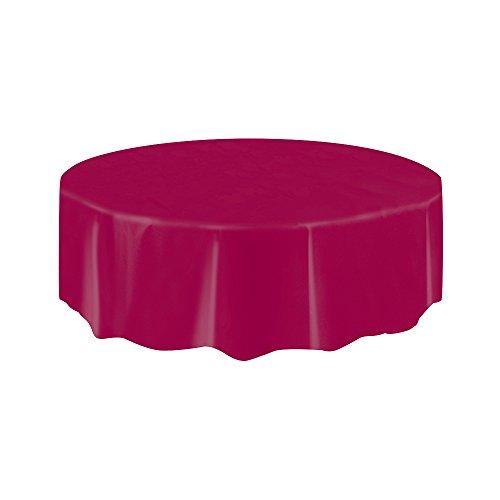 partido-enico-7-pies-cubierta-mesa-redonda-de-plastico-borgona