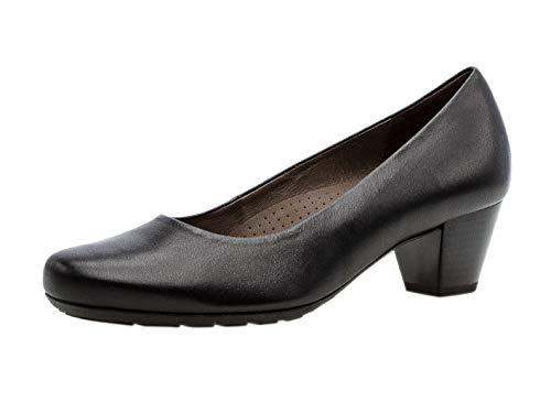 Gabor Damen Pumps 32.120, Frauen Pumps,Court-Shoes,Absatzschuhe,Abendschuhe,Stöckelschuhe,schwarz,41 EU / 7.5 UK