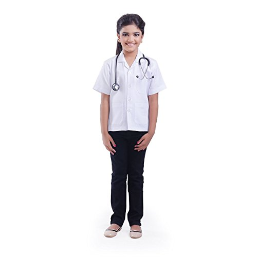 Fancydresswale Community Helper Costumes for Boys and Girls (Doctor, 4-5 Years)