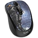 Microsoft Wireless Mobile Mouse 3500, schwarz glänzend (Standard-Verpackung) Halo