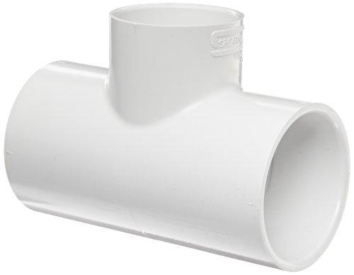Spears 401Series PVC-Rohr Fitting, Tee, Schedule 40, weiß, Sockel, 3