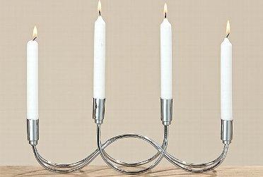 Kerzenleuchter Tapino aus Eisen