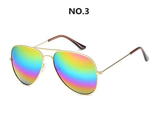 Cranky Orange Herren SonnenbrilleMarkendesigner MetallrahmenPilot SonnenbrilleDamenbrille Unisex Brillen Gafas Oculos de Sol Masculino, C3