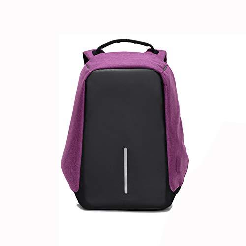 Business-Laptop-Rucksack, wasserdicht und tragbar Multifunktions-Rucksack College-Rucksack, mit USB-Ladeanschluss Design