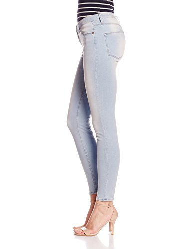 Herrlicher Damen Skinny Jeans Superslim Denim Blau (brilliant 684)
