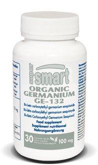 Supersmart - Minéraux, Produits spécifiques - Ge-132 Organic Germanium - Contenance: 75 ml.