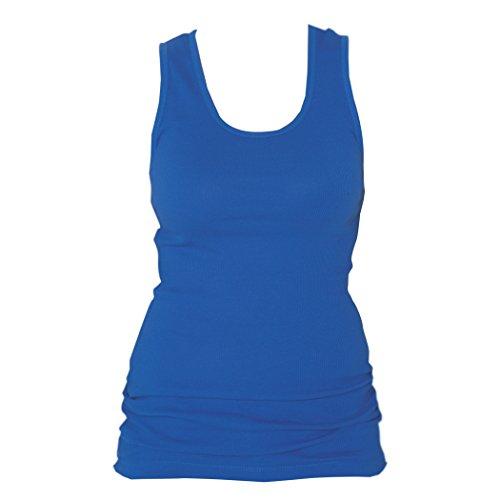 boxercraft - Haut de pyjama - Uni - Femme taille unique Bleu Marine
