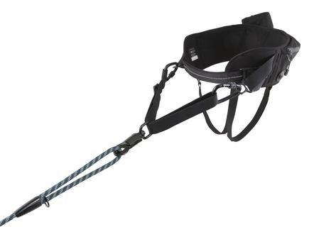 Hurtta - Cinturón de Senderismo, Color Negro, Talla única