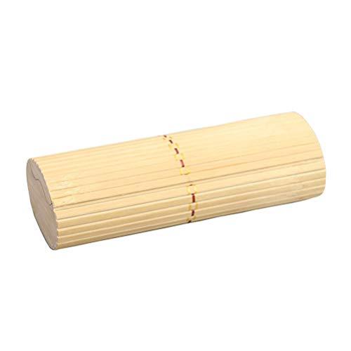Toyvian Bambus Brillenetui Container Halter Sonnenbrillen Aufbewahrungsbox für Home Travel