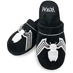 Marvel Zapatillas sin cordones oficiales Mule para adultos Venom - Talla única
