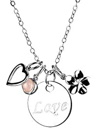 Collier AE finesse, 925 Silber - Sterling Silber, 4 Anhänger