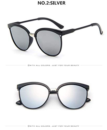 CNSP Brillen,Vintage Sonnenbrillen,2019 Cat Eye Sunglasses Women Plastic Sun Glasses Classic Retro Outdoor Eyewear Oculos De Sol Gafas,C2