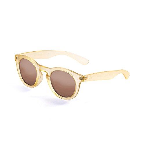 OCEAN SUNGLASSES - San Francisco - lunettes de soleil - Monture : Marron Transparent - Verres : Marron (W20000.4)