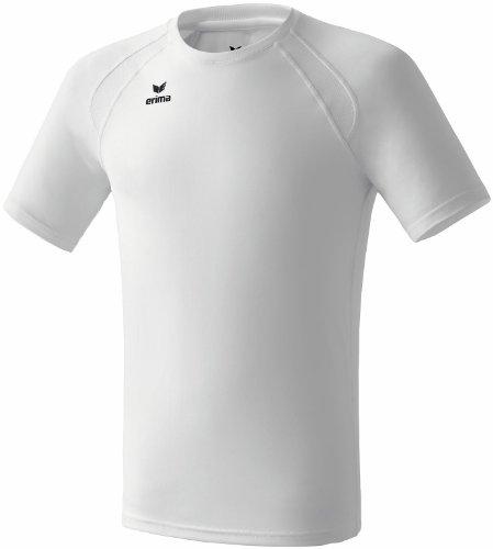 Erima Kinder T-Shirt Performanceweiß - Weiß, 140 cm (11 Jahre)