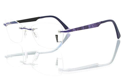 switch it Garnitur Combi 3293 Wechselbügel Montur in der Farbe violett-matt, Druck Netz lila, innen schwarz-matt