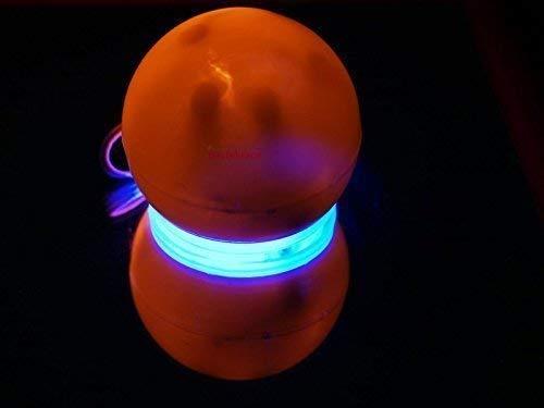 n Nase mit rot-blau Lichteffekt für einen Erwachsenen oder Kind (blinkender Beleuchtung) ()