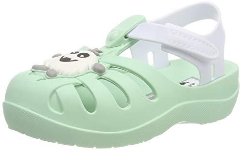Ipanema Summer V Baby, Sandalias Unisex bebé, Green/White 9192, 24 EU