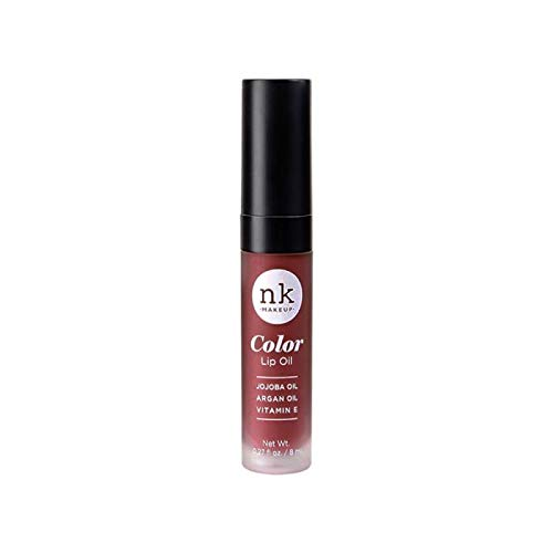 NICKA K Color Lip Oil - Mauvette - Alba Aloe Mint