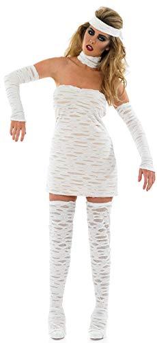 Sexy Ägyptische Kleid - Fancy Me Damen 4 Stück Sexy