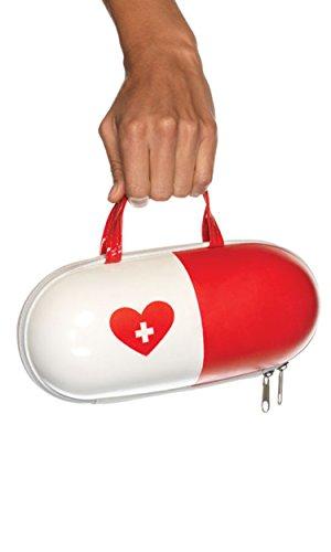 Leg Avenue A1914 - Handtasche im Pillendesign -