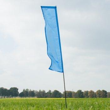 Fahnen - Hawaii Fahne blue - UV-beständig und wetterfest - Abmessung: 140x44cm (Blue)