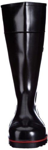 Nora Mega-Jan 75557 - S5, Stivali antinfortunistici unisex adulto Nero