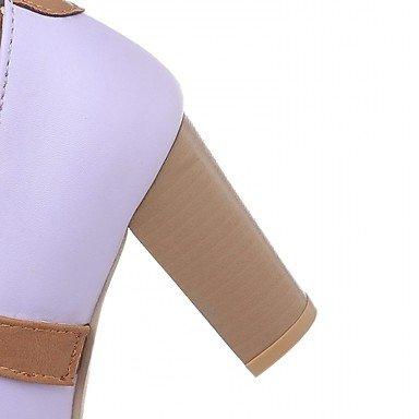 Talloni delle donne Primavera Estate Autunno Inverno Dress Comfort novità PU Wedding sintetica ufficio & carriera Party & Sera casuale tacco a spillo Pink