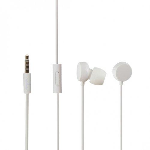 Original Microsoft Headset in Weiss für Microsoft Lumia 640 XL InEar In-Ear Kopfhörer Ohrhörer Ohrstöpsel 3,5mm Stecker Stereo Sound NOKHW1 Bulk verpackt (Kopfhörer Nokia Lumia)