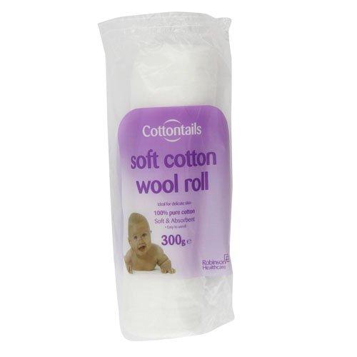 Cottontails Rouleau de coton hydrophile 300 g