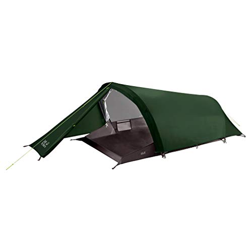 Jack Wolfskin Gossamer II Outdoor 2 Person Tunnelzelt Zelt, Mountain Green, One Size