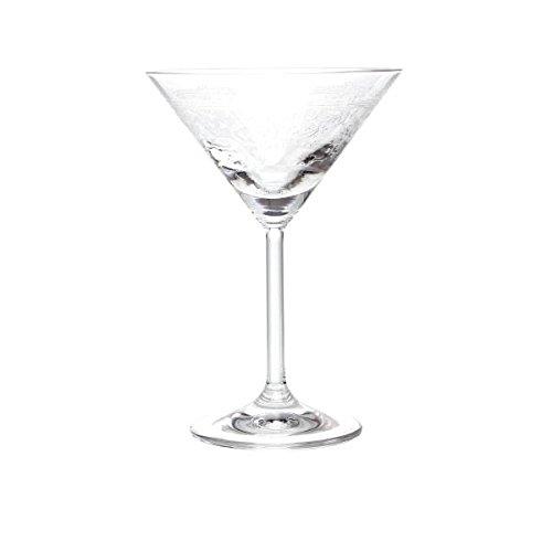 Martiniglas LUCCA mit Pantographie Dekor für ca. 180 ml Paul Nagel