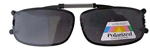 Aufsatz Sonnenbrille für Brillenträger Sehstärke Clip Brillenaufsatz Sonnenbrillenaufsatz Sonnenbrillenclip neu (grau)