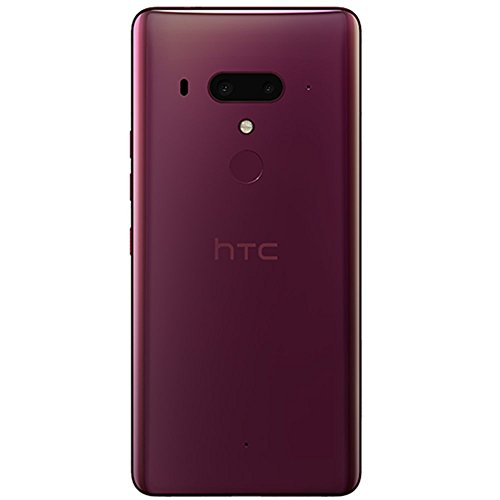 Foto HTC U12 + UK sim-free smartphone - 128 GB, 6 Gb RAM (Flame Red)