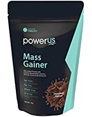 Powerus Mass Gainer Powder (1kg, Chocolate Flavour)