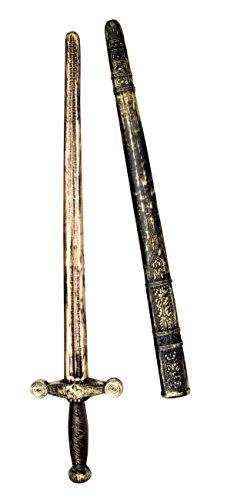 Boland 44036 - Ritterschwert mit Scheide, circa 75 (Halloween Schwert)