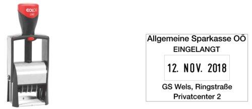 """Preisvergleich Produktbild COLOP Datumstempel """"Classic Line 2360"""", mit Gutschein VE=1"""