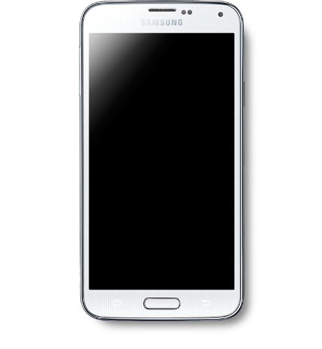 Samsung Galaxy S5 (Shimmery White)