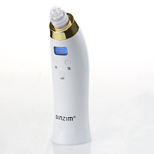 Express Panda® Vacío Tratamiento de succión y Diamante dermoabrasión pluma con pantalla LCD digital [microdermoabrasión portátil de vacío del dispositivo de la piel Mejora de belleza]