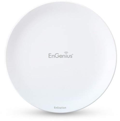 EnGenius Wireless Outdoor PtP CPE 802.11a/n 5GHz 867Mbps 2T2R, ENSTATION5-AC (802.11a/n 5GHz 867Mbps 2T2R 19dBi Directional ia 2FE pPoE) -