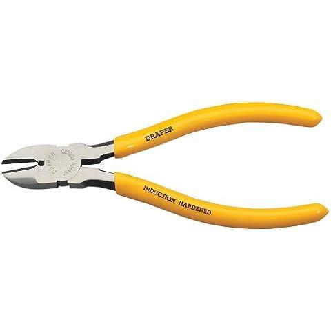 Draper DIY Series 09400 - Pinza a taglio diagonale, con manico in PVC temprato, dimensione 160 mm