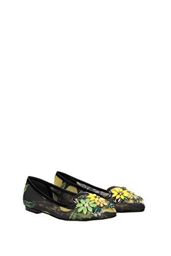 Dolce & Gabbana Ballerines Pour Femmes (cp0019ar361) Multicolore