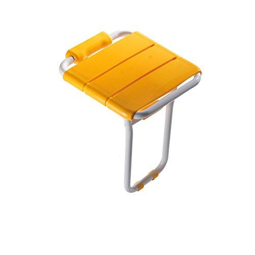TY-Badezimmerhocker Badezimmer-Klappstuhl-Wand-eingehangener Stuhl-Eingangskorridor-Badezimmer-Duschbad-Schemel-Wand-Schemel-Duschwand-Stuhl-Schemel für die älteren Personen (Farbe : B)