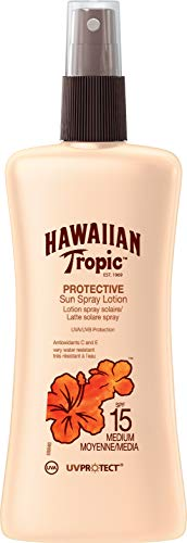 Hawaiian Tropic Satin Protection Sun Spray Lotion Sonnenspray LSF 15, 200 ml, 1 St -