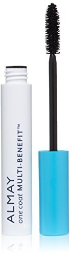 Almay One Coat Multi-Benefit Mascara, Black, 0.24 Fluid Ounce by Almay